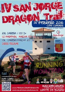 Cartel del IV Trail San Jorge Dragon 2016